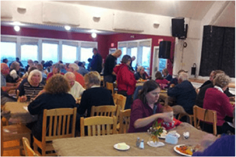 Celtic Colours; Luncheon at the Inverness County Centre for the Arts
