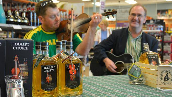 Cape Breton single-malt whisky distiller launches Fiddler's Choice